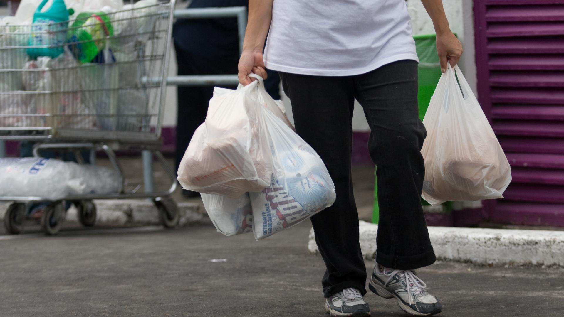 Prohibición bolsas plásticas