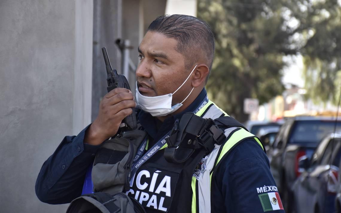 Entregan cubrebocas a Policías Municipales de Toluca