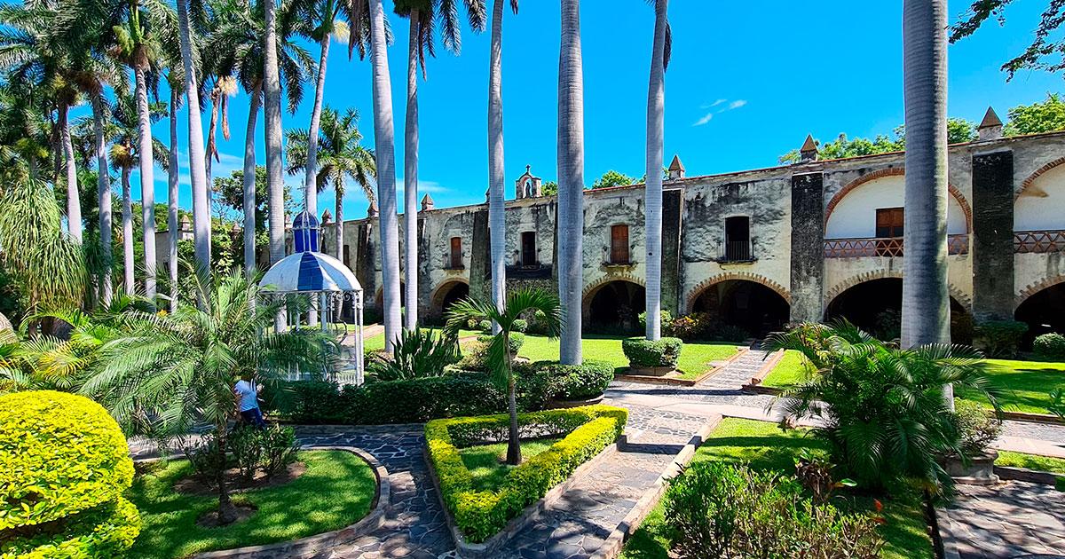 Hacienda San José Vista Hermosa Morelos