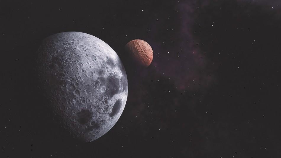 Mira la conjunción de la Luna y Júpiter desde México
