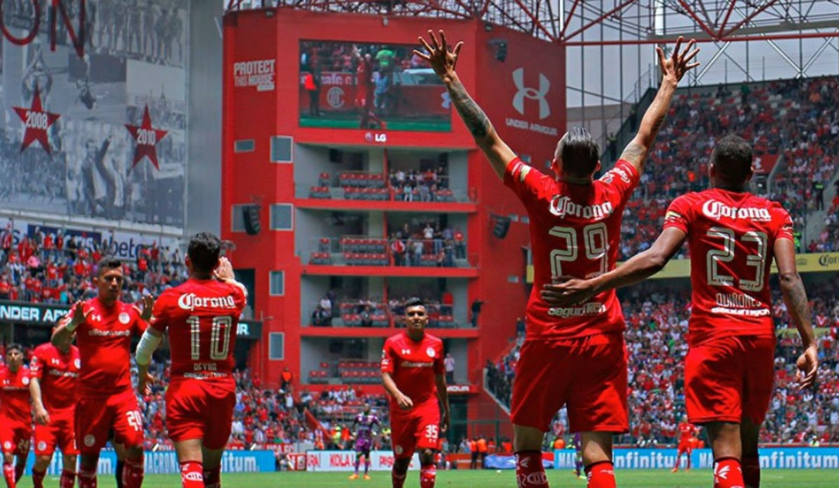 Celebración Toluca FC
