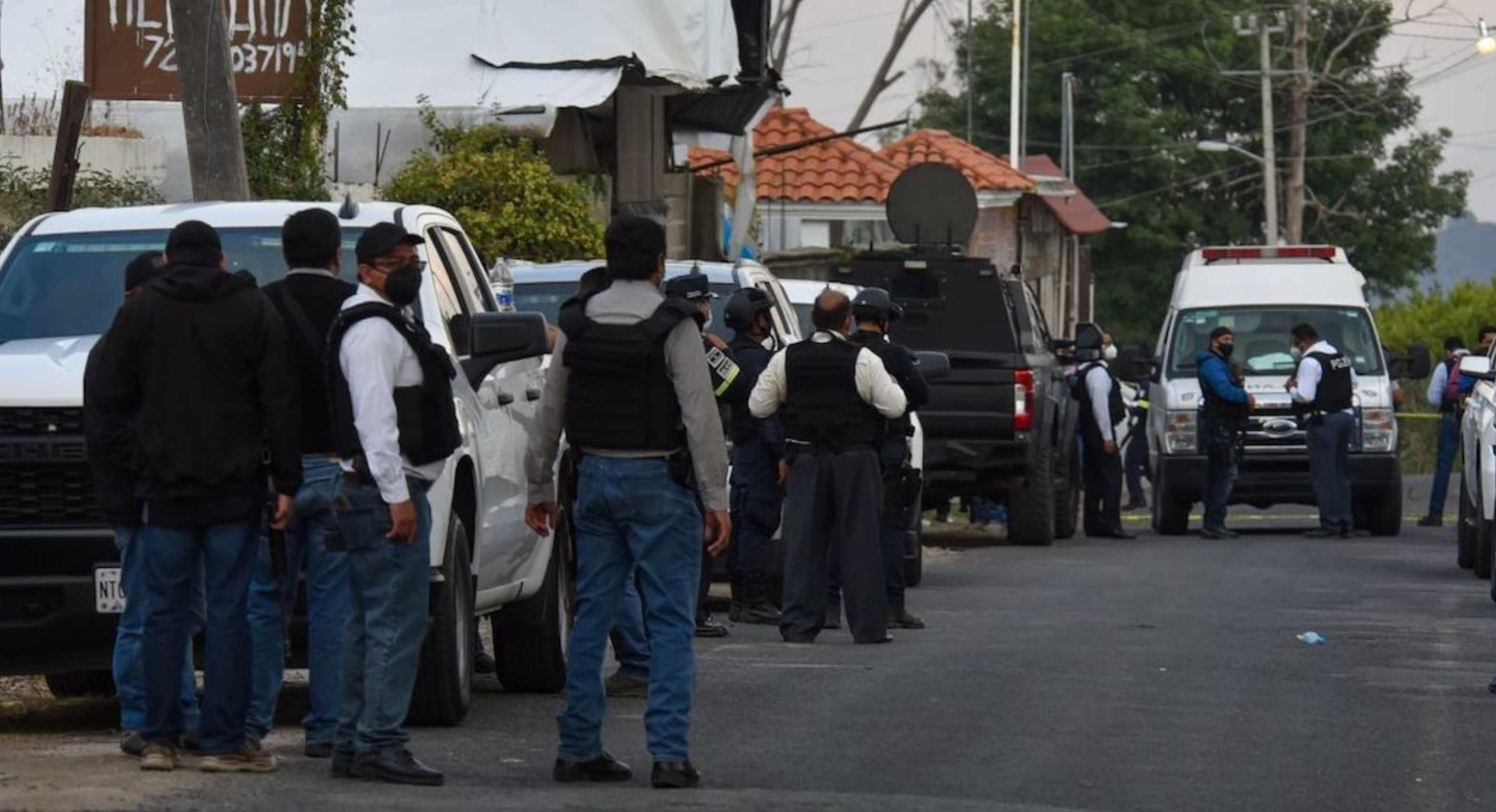 detienen a 25 probables implicados en la emboscada contra policias en coatepec harinas