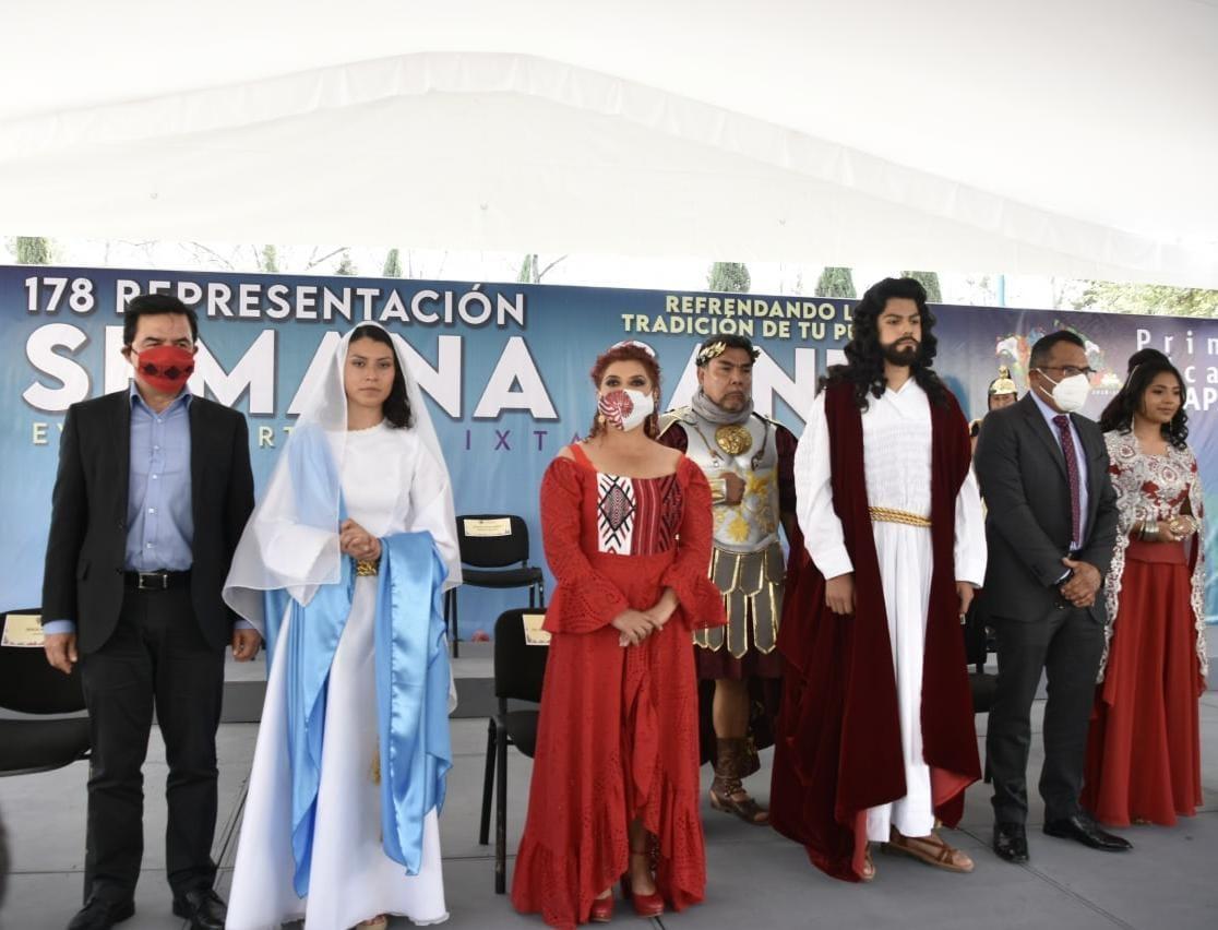 Por la contingencia sanitaria por COVID-19, la representación de Semana Santa de Iztapalapa se realizará de manera virtual por segundo año