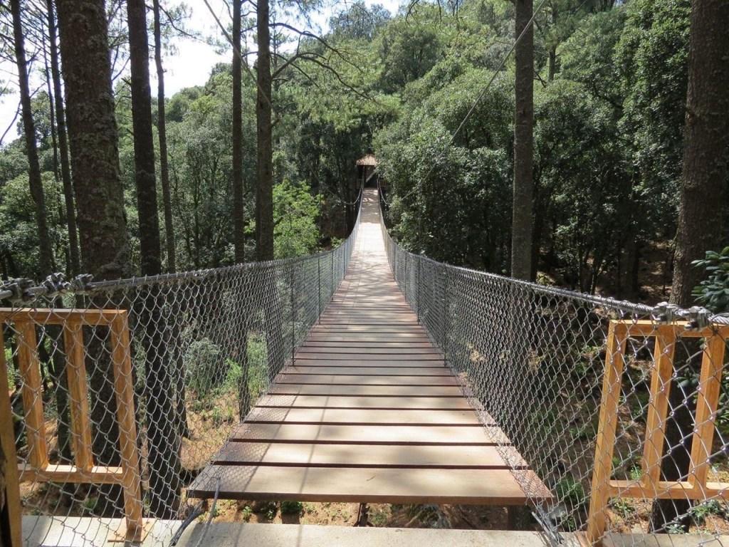 Te recomendamos visitar el Parque Ecológico Xocotépelt, Jocotitlán, Estado de México en Semana Santa, pues este espacio cuenta con zona de camping, tirolesa, rápel, gotcha, áreas de senderismo y más que podrás disfrutar en familia