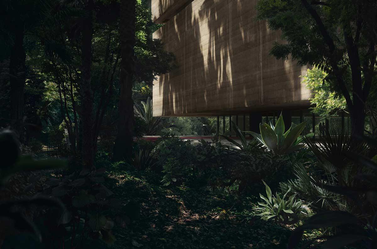 Studio Viktor Sørless y Estudio Juiñi trabajan en conjunto para crear Xinatli, un museo de investigación que estará ubicado en el sur de la selva tropical mexicana