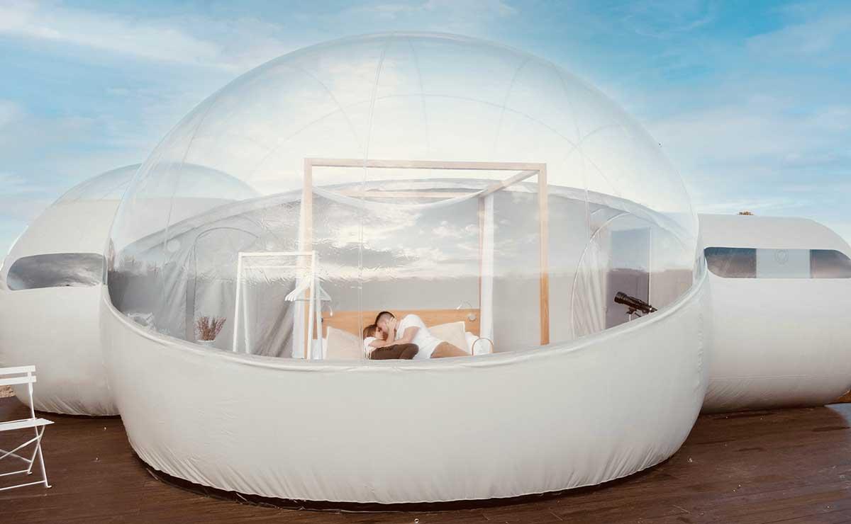 Alpino Bubble el primer hotel en la cdmx