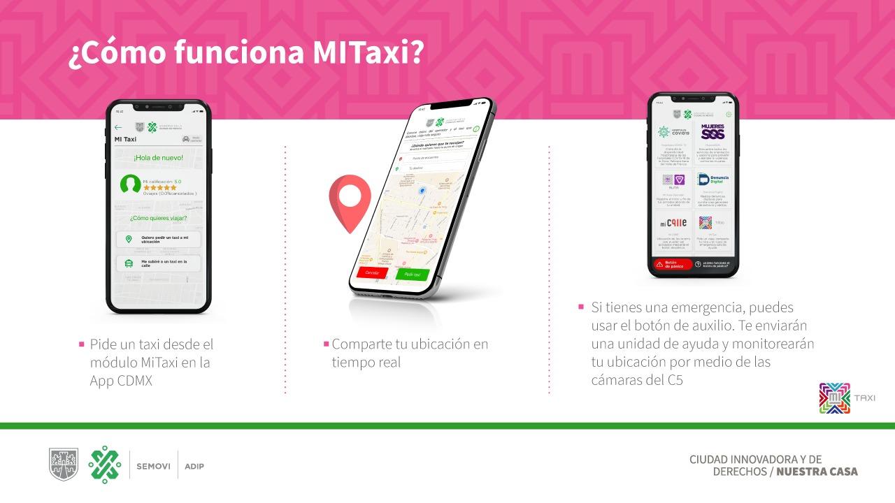 La herramienta Mi Taxi CDMX es la mejor aplicacion de taxis según la jefa de gobierno