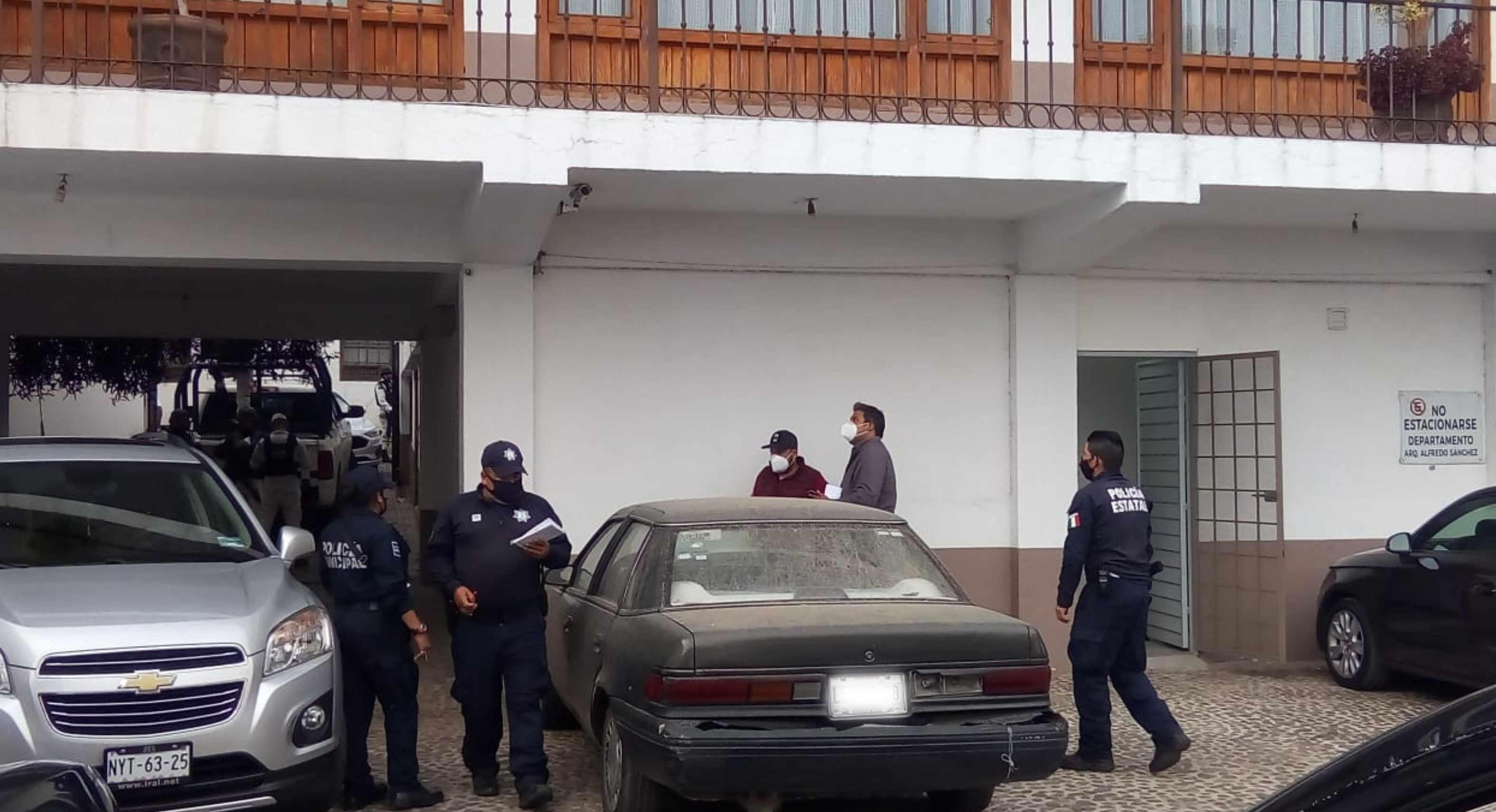 Banco del bienestar es asaltado en Valle de Bravo