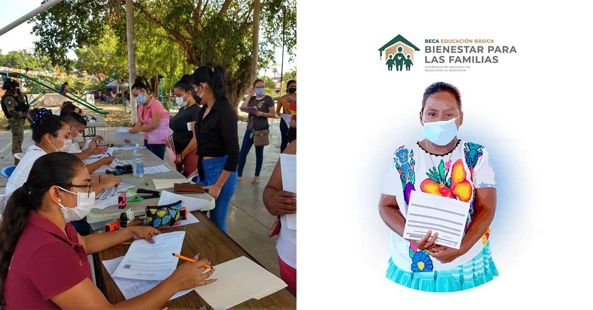 Becas Benito Juárez imagen ilustrativa del programa de beca familias