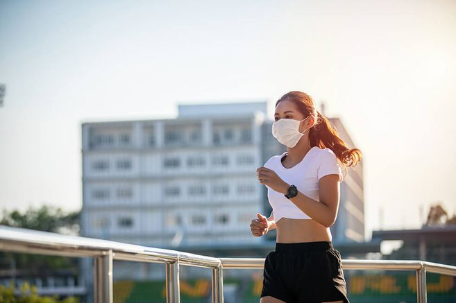 es bueno o malo utilizar cubrebocas al momento de realizar ejercicio