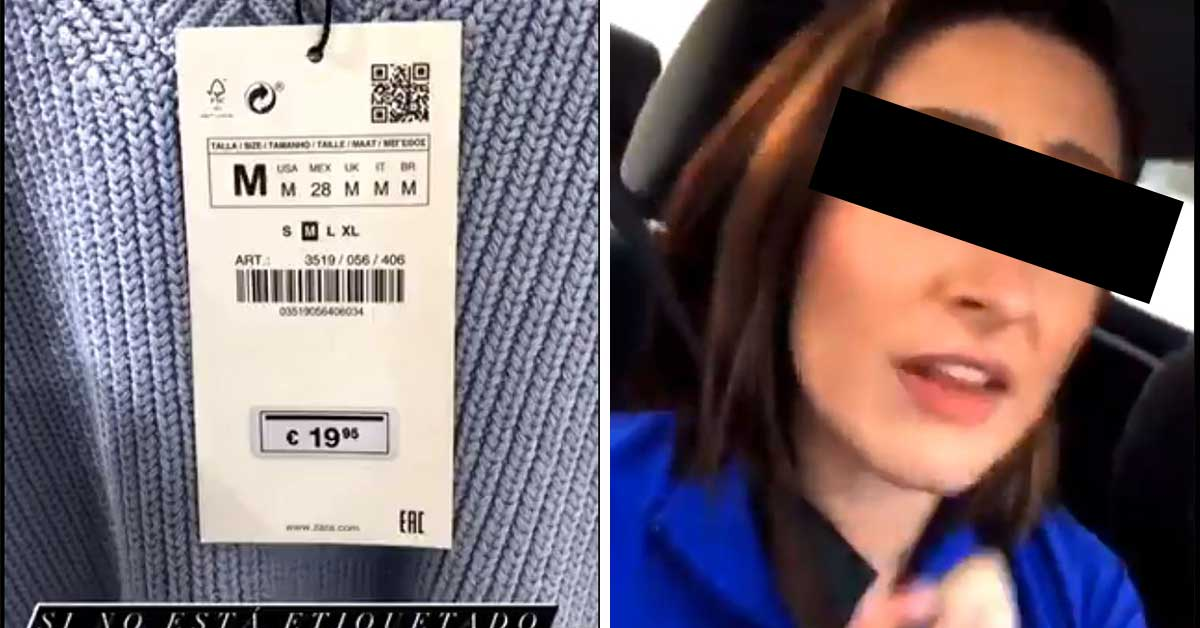 Edomex mujer amenaza con denunciar ante Profeco a empleados de Zara
