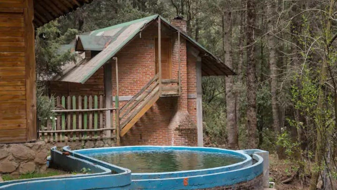 Las cabañas se encuentran en lugares turísticos del la entidad y tienen precios accesibles desde los 500 y hasta las mil 200 pesos por noche.