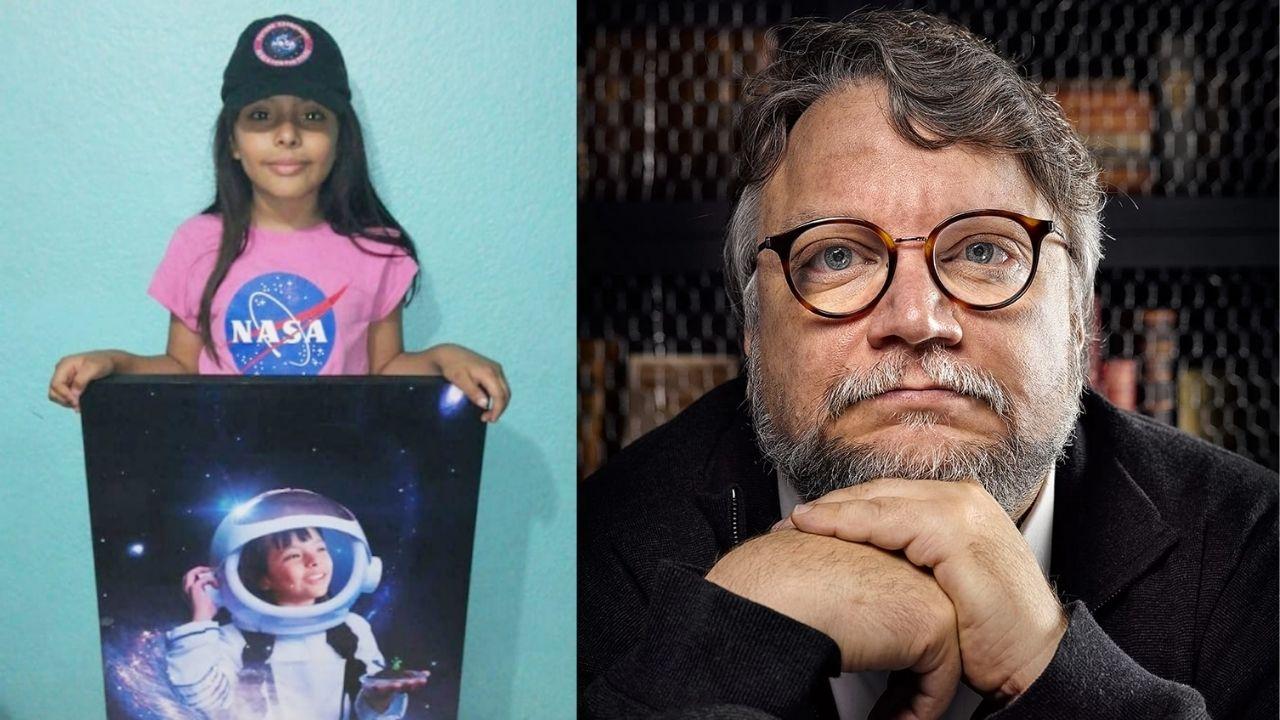 Adhara fue aceptada en el International Air and Space Program, pero no cuenta con recursos, por lo que acudió a Guillermo del Toro para cumplir su sueño de llegar a la NASA.