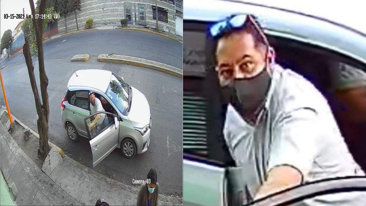 usuario denuncia la forma en que fue víctima de robo dentro de su propio negocio en el valle de toluca