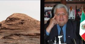 Rafael Navarro tiene una colina con su nombre en Marte