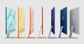 Nuevas iMac de colores presentadas el día de hoy