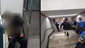 Persona de la tercera edad fallece en el metro de la CDMX