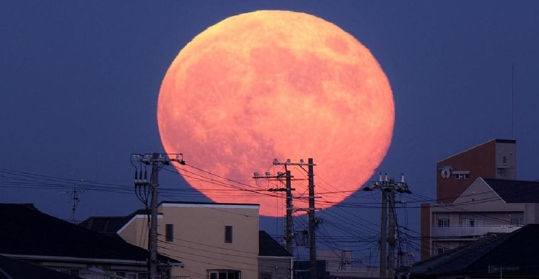 disfruta de la superluna rosa abril 2021